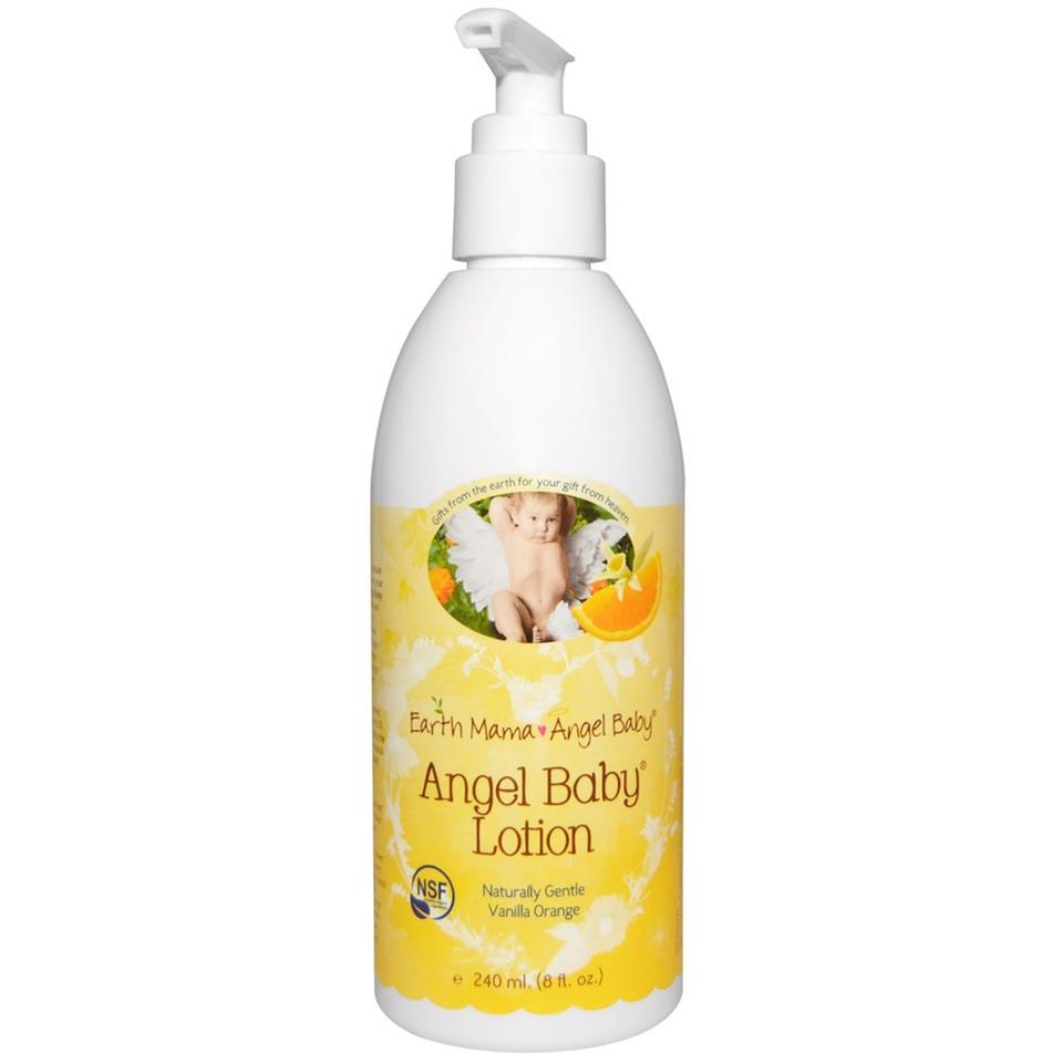 Angel Baby Organik Bebek  Losyonu - 240 ML.